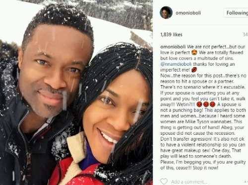 """""""I Heard Some Ladies Are Mike Tysons Too"""" – Omoni Oboli Weighs In On Rampant Domestic Violence"""