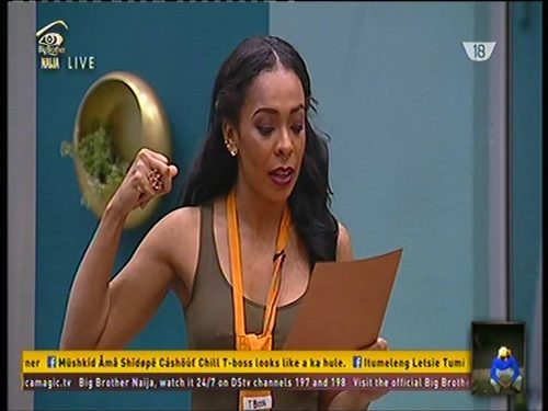 #BBNaija: Tboss and DebbieRise Turn Prayer Warriors In Bid To Avoid Eviction – VIDEO