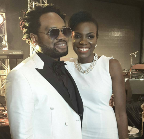 Check Out Pictures Of Music Whiz, Cobhams Asuquo & Stunning Wife At His Album Launch Yesterday