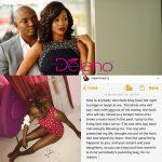 How Patoranking's Record Label Boss Foston Utomi Allegedly Beat Wife Ajoke Blue Black