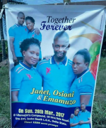 Check Out Wedding Poster Of Man Set To Marry Two Women At Once In Delta State
