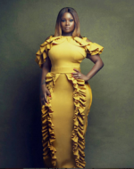 Photo: Voluptous OAP, Toolz Flaunts Crazy Curves