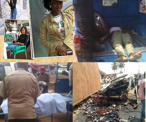 So Sad! Another Female Corp Member Dies While Serving Father's Land In Enugu