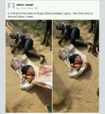 SO SAD! Man Beheads Beautiful Lady In Badagry, Lagos State [Graphic]