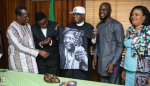 King Sunny Ade Pays Courtesy Visits To Fashola,  Lai Mohammed and Kayode Fayemi [Photos ]