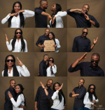 Here's Another Creative Pre-wedding Photoshoot Style You Could Try