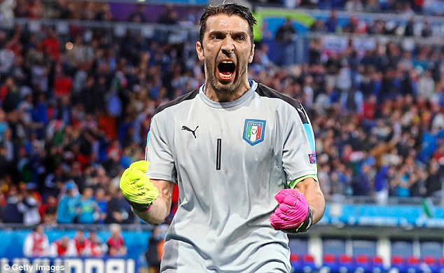 WOW! Gianluigi Buffon Plays His 1000th Professional Match As He Leads Italy To Victory