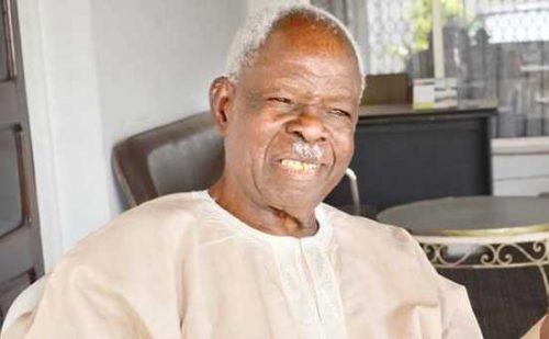 Yoruba Leader and Former Governor Of Western Region, Gen. Adeyinka Adebayo Passes On