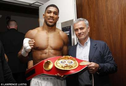 World Boxing Champ, Anthony Joshua Reveals Nigerian Boarding School Taught Him Discipline