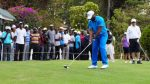 Photo News: Jay Jay Okocha Hints At New Profession, Plays Pro Golf At Barclays Open in Kenya
