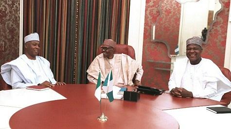 Details OF Buhari's Closed Door Meeting With Saraki and Dogara Revealed!