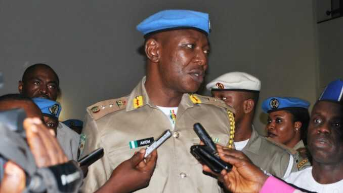 Police Release Peace Corps Commander, Akor