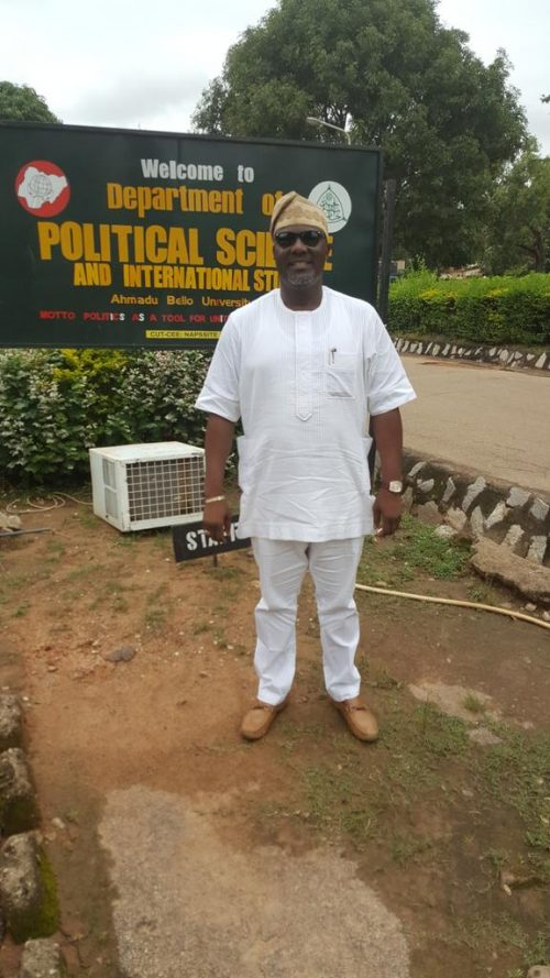 Dino Melaye Reacts To Reports Saying He Never Graduated From Ahmadu Bello University