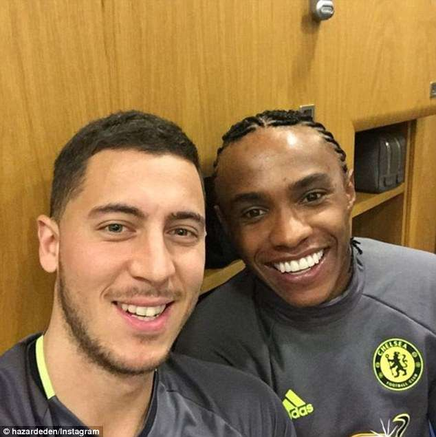 Chelsea Star, Unveils Willian's New Chic Haircut Ahead Of Crunch Tie Against Man United