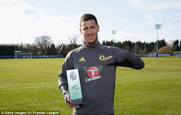 Eden Hazard Wins Premier League Goal Of The Month With Amazing Solo Goal Against Arsenal