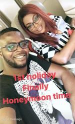 Funke Akindele And JJC Skills Jet Off On Romantic Honeymoon To Seychelles [Photos]