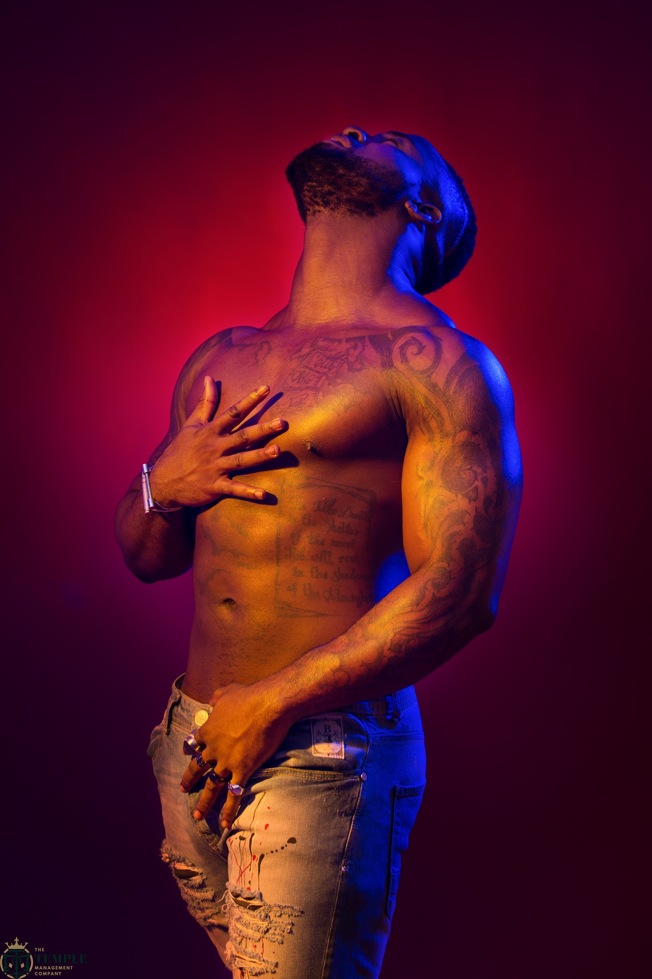 Iyanya Strips, Unleashes HOTNESS In New Pictures Ahead Of Forthcoming EP