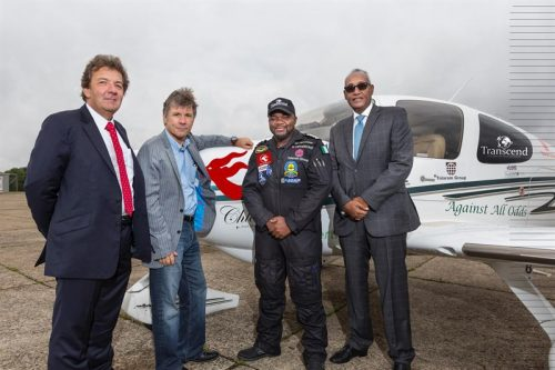 Ademilola Odujinrin: Nigerian Pilot Makes History as First African To Fly Solo Around The World