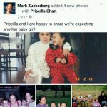 Mark Zuckerberg and Wife, Priscilla Chan Expecting Second Child – a Baby Girl!