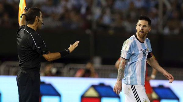 FIFA Slams Messi With 4 Match Ban After Insulting Row With Referee