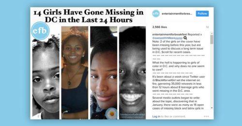 Taraji P. Henson, Gabrielle Union, Viola Davis & More Celebrities Raise Uproar On Social Media As 14 Black Girls Go Missing In Washington D.C
