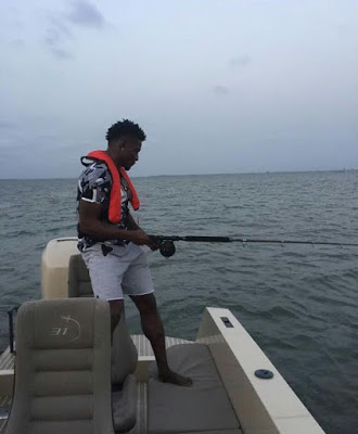 Check Out Pictures Of Obafemi Martins' $460k (N142 million) Iguana 31 Expedition Yacht