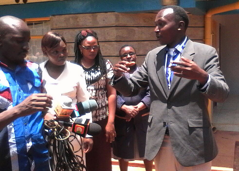Drama Unfolds As Kenyan Pastor Storms Mortuary To Resurrect Dead Wife [Photos]