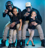 Too Much Love😍😍! This Single Picture Of Tight Brothers, Psquare With Their Kids Is Just Amazing!