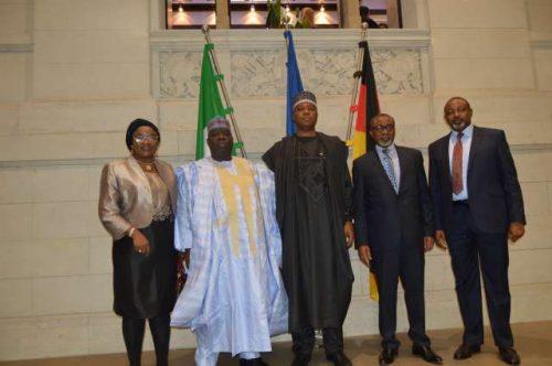 Senate President, Saraki Visits Germany Senate House, Meets With Reps [Photos]