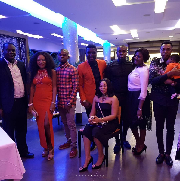 Seyi Law Turns On Romantic Side As He Takes Wife On Plush Wedding Anniversary Dinner
