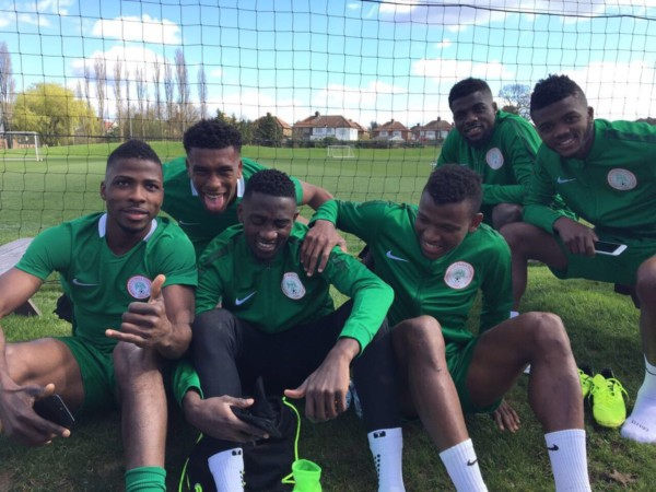 Check Out The First Pictures From Super Eagles Training Camp in  London [Photos]