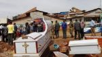 Scenes as Angry Traders Dump Coffins At TB Joshua's Synagogue Church Of All Nations