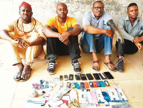 Police Nabs Fraudsters Impersonation Tinubu, Saraki and Prominent Politicians To Dupe People