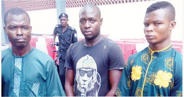 Lagos Police Arrests Three Devilish Siblings Who Sell Beans Mixed With Sniper