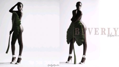 Former BBA Hotshot, Beverly Osu Goes Completely Naked In New Photos