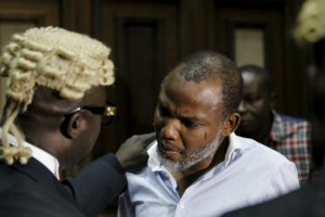 Victory For Biafra!  Court Dismisses Charges Against Nnamdi Kanu