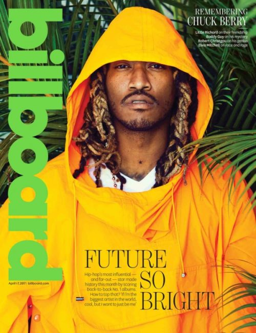 Future Slams Ciara For Giving Up On Him As He Covers Billboard Magazine's Latest Issue