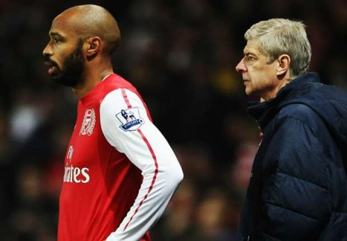 Thierry Henry Reacts To Reports That He Would Be Replacing Under-fire Arsenal Boss, Wenger