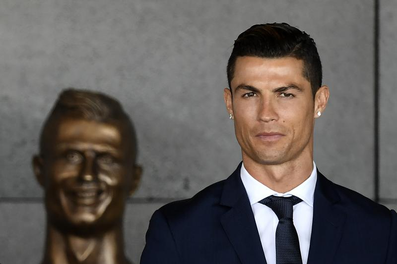 Twitter Reacts To 'Horrifying' Bronze Statue Of Cristiano Ronaldo At Madiera Airport