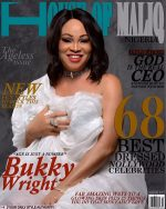 Delectable Actress, Bukky Wright Smoulders On Cover Of House Of Maliq's Latest Issue