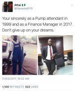 Be Encouraged: Trending Photo Of Pump Attendant Turned Finance Manager