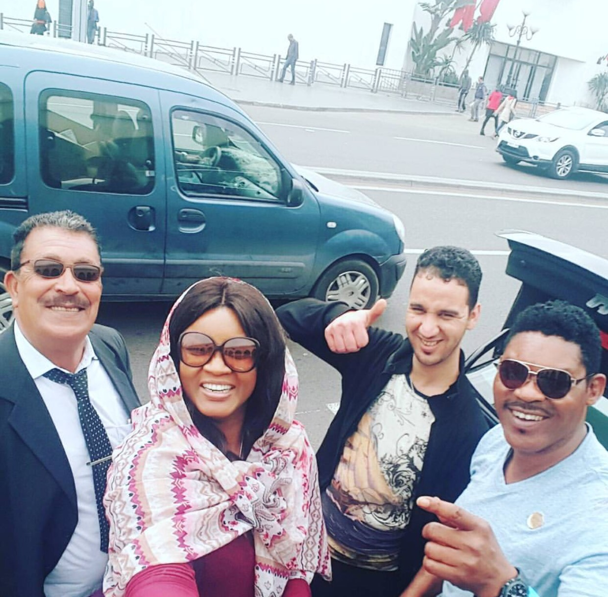 Photos Of Actress Omotola And Husband Enjoying Their Vacation In Morocco