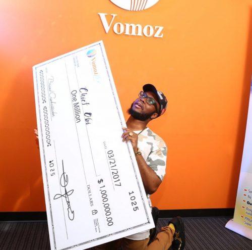 Nigerian Comedian Chief Obi Lands $1 Million Ambassadorial Deal With Vomoz