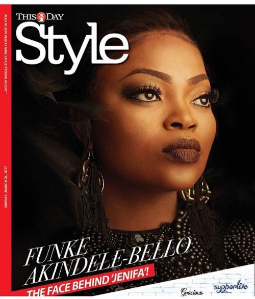 Funke Akindele-Bello Shines In Thisday Style