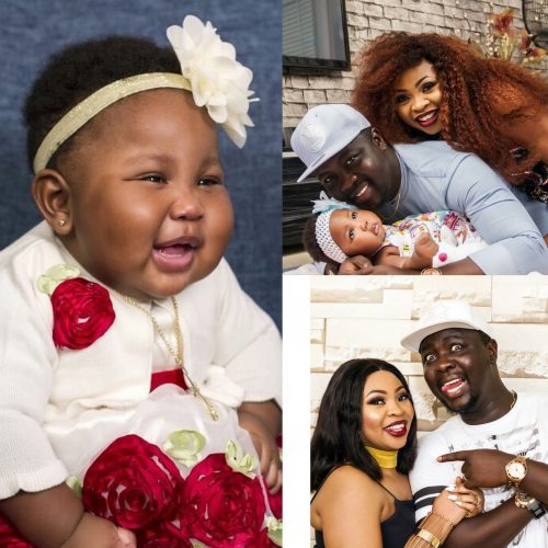 Comedian Seyi Law and his wife celebrate 6th year anniversary as their daughter Tiwaoluwa turns 6months
