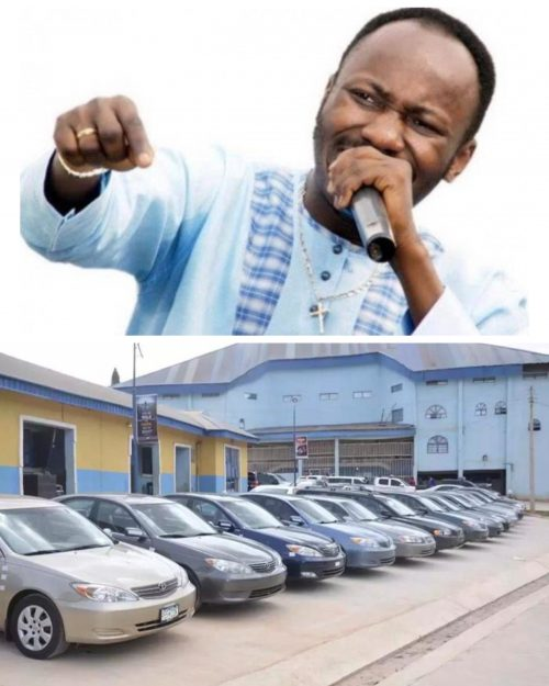 Apostle Suleman Gifts 26 Cars, Cash To Celebrate Birthday