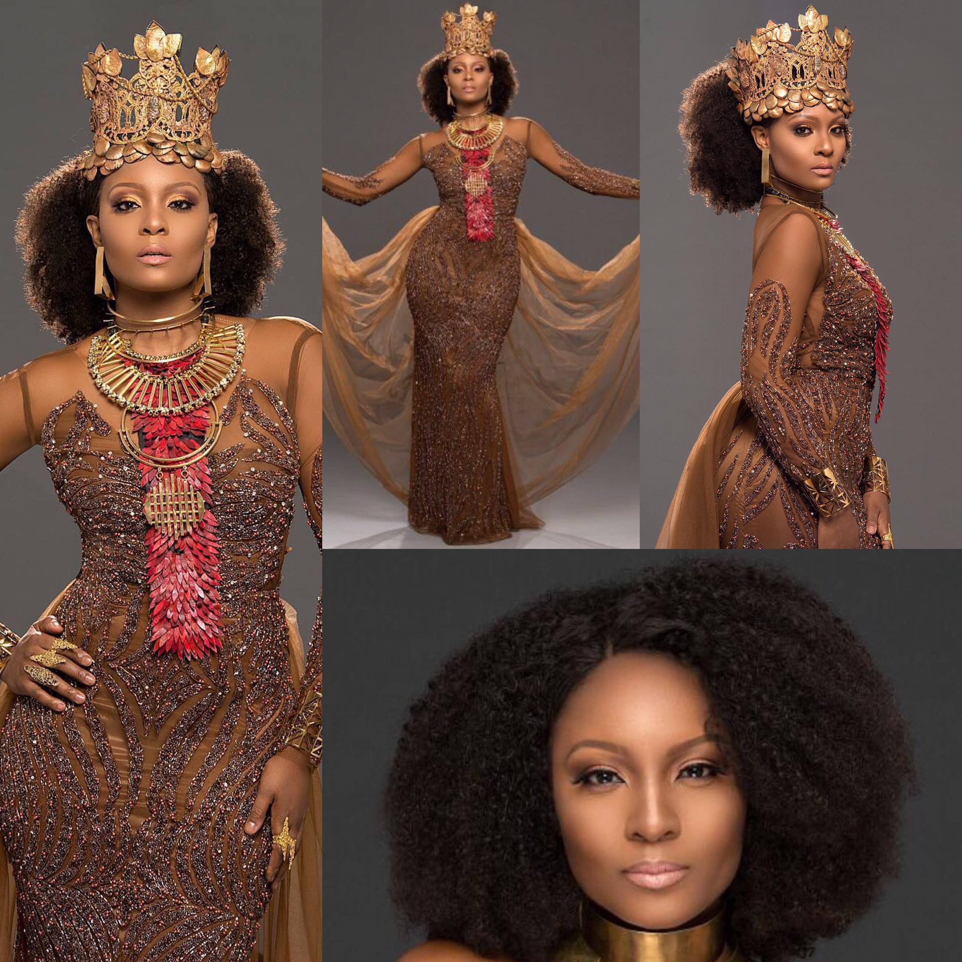 Queening! Actress Osas Ighodaro Ajibade Launches Website With Beautiful Photos