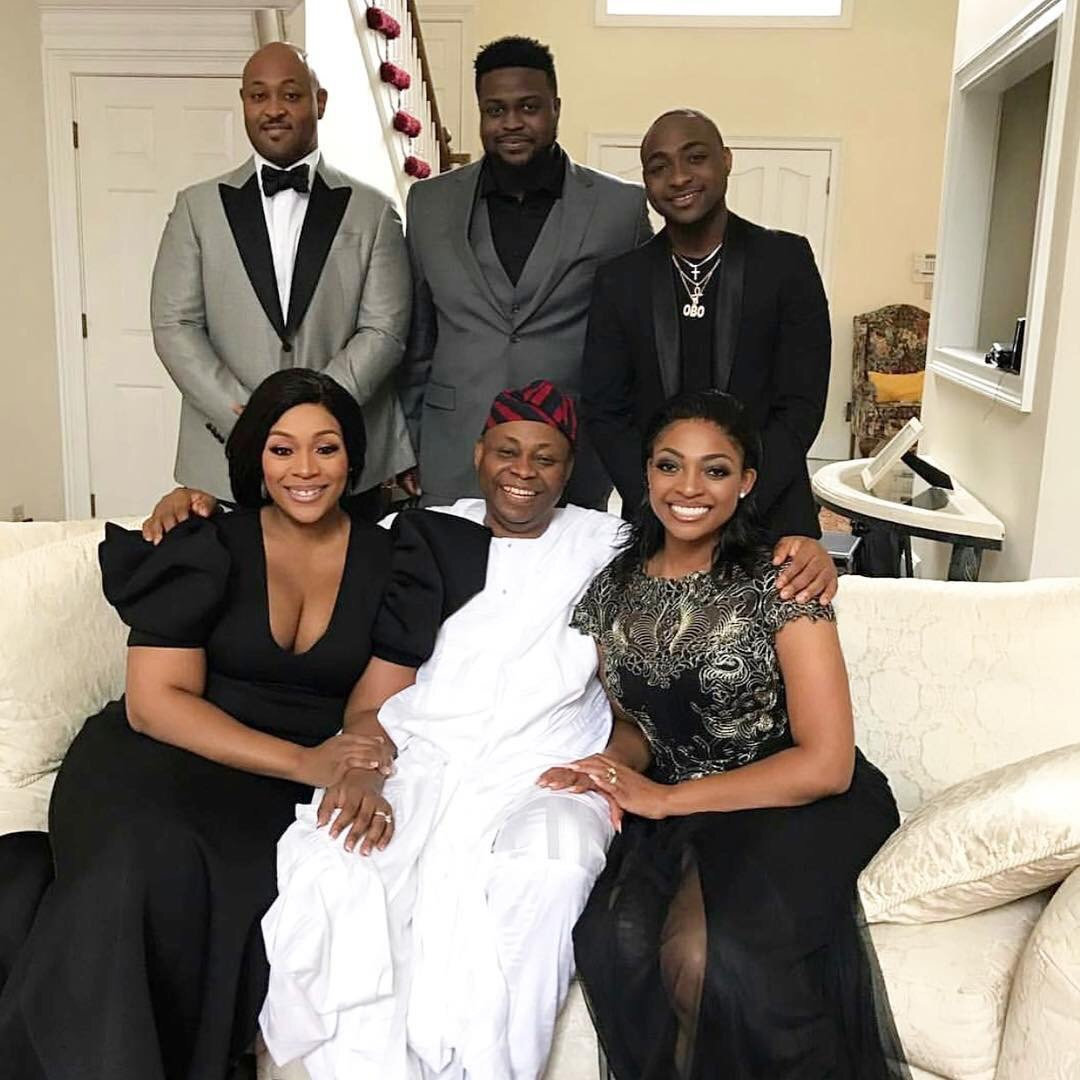 Beautiful Photo Of Davido's Family