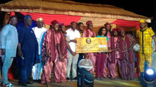 Goldberg Excellency Tour: Aje Olokun Drummers Clinch Grand Prize in Ikare Akoko Competition