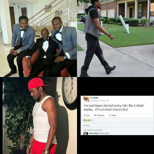 H-I Idibia, Tuface's Brother Denied Entry Into The US Where He Lives With His Family